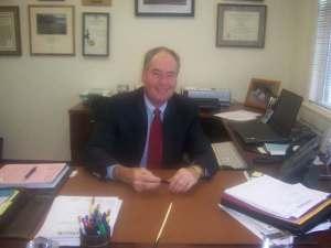 Interim College President George Gatta
