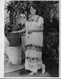 Alma Reed (Photo, compliments of La Jornada)