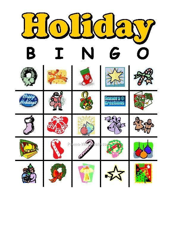 picture about Holiday Bingo Printable called Holiday vacation-Or-Custom made-Bingo-Activity-Playing cards_20090712433 The School
