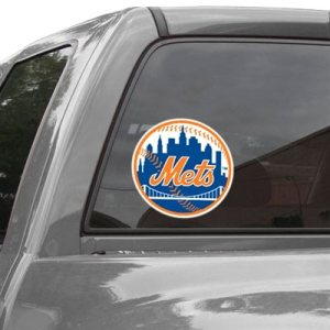 First bumper sticker that Notti had received from a Mets game.
