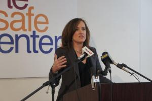 District Attorney Kathleen Rice Speaks about the opening of the Safe Center