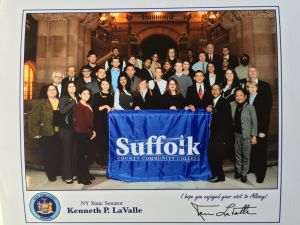 Suffolk Community College Students at Albany on 2/25/16