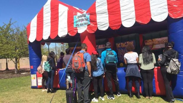 Carnival at Veterans Plaza at SCCC on 4.27.16